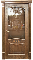 """Шпонированная межкомнатная дверь """"Наполи"""", цвет Миндаль"""