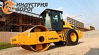 Аренда услуги - вибро каток одновальцовый грунтовый 14 тонн