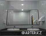 Зеркало в черной металлической раме, 5мм, 900(В)х1850(Ш)мм, фото 2