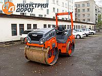 Услуги - вибро каток двух-вальцовый асфальтный 5 тонн