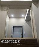 Зеркало в золотистой металлической раме, 5мм, 1600(В)х1300(Ш)мм, фото 3