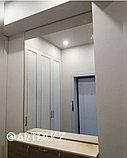 Зеркало в золотистой металлической раме, 5мм, 1600(В)х1300(Ш)мм, фото 2