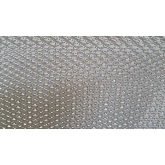 Защитная сетка для радиатора мелкая хром