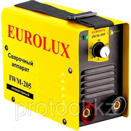Сварочный аппарат  инверторный  IWM205 Eurolux, фото 2