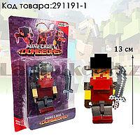 """Набор фигурок игровой для детей из серии Майнкрафт """"Minecraft"""" с кинжалом 2 предмета 01"""