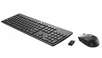 Беспроводная Клавиатура+Мышь HP T6L04AA Wireless Slim (Черный)