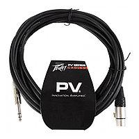 Интерфейсный кабель Jack-XLR(F) 3 м Peavey PV 10' TRS TO FEMALE XLR