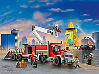 LEGO City 60282 Команда пожарных, конструктор ЛЕГО