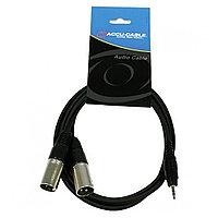 Сигнальный аудио кабель ACCU-CABLE AC-J3S-2XM/1,5