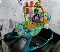 Детское кресло - качалка шезлонг FitchBaby арт 8615