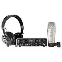 Комплект для звукозаписи Behringer U-Phoria Studio Pro