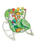 Детское кресло - качалка шезлонг FitchBaby арт 8616