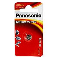 Батарейка дисковая литиевая Panasonic CR-1025/1BP