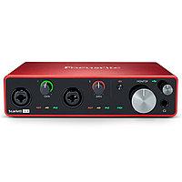 Внешняя студийная звуковая карта Focusrite scarlett 4i4 3rd Gen USB