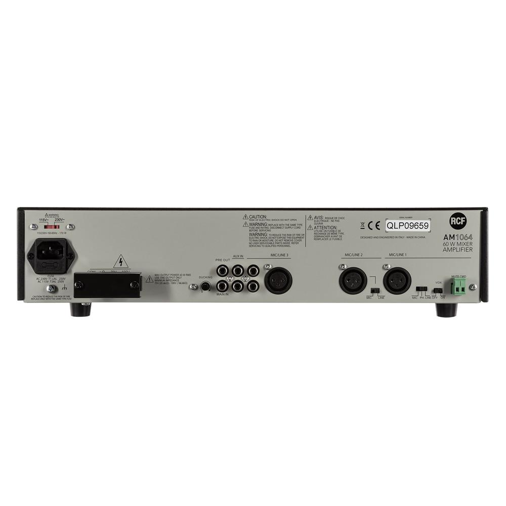 Микширующий трансляционный усилитель RCF AM 1064 - фото 5