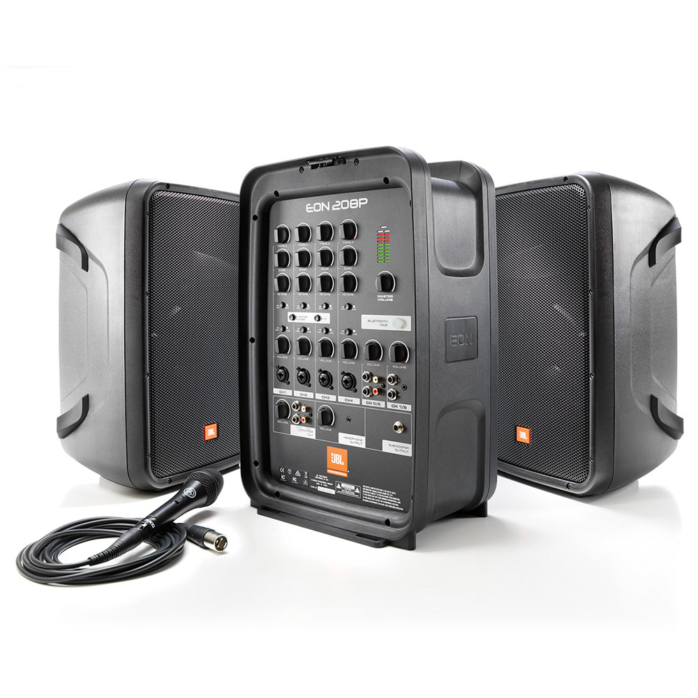 Портативная акустика JBL EON208P - фото 1