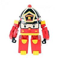 Robocar Poli Робот-трансформер - Рой (свет, звук), 25 см, Робокар Поли