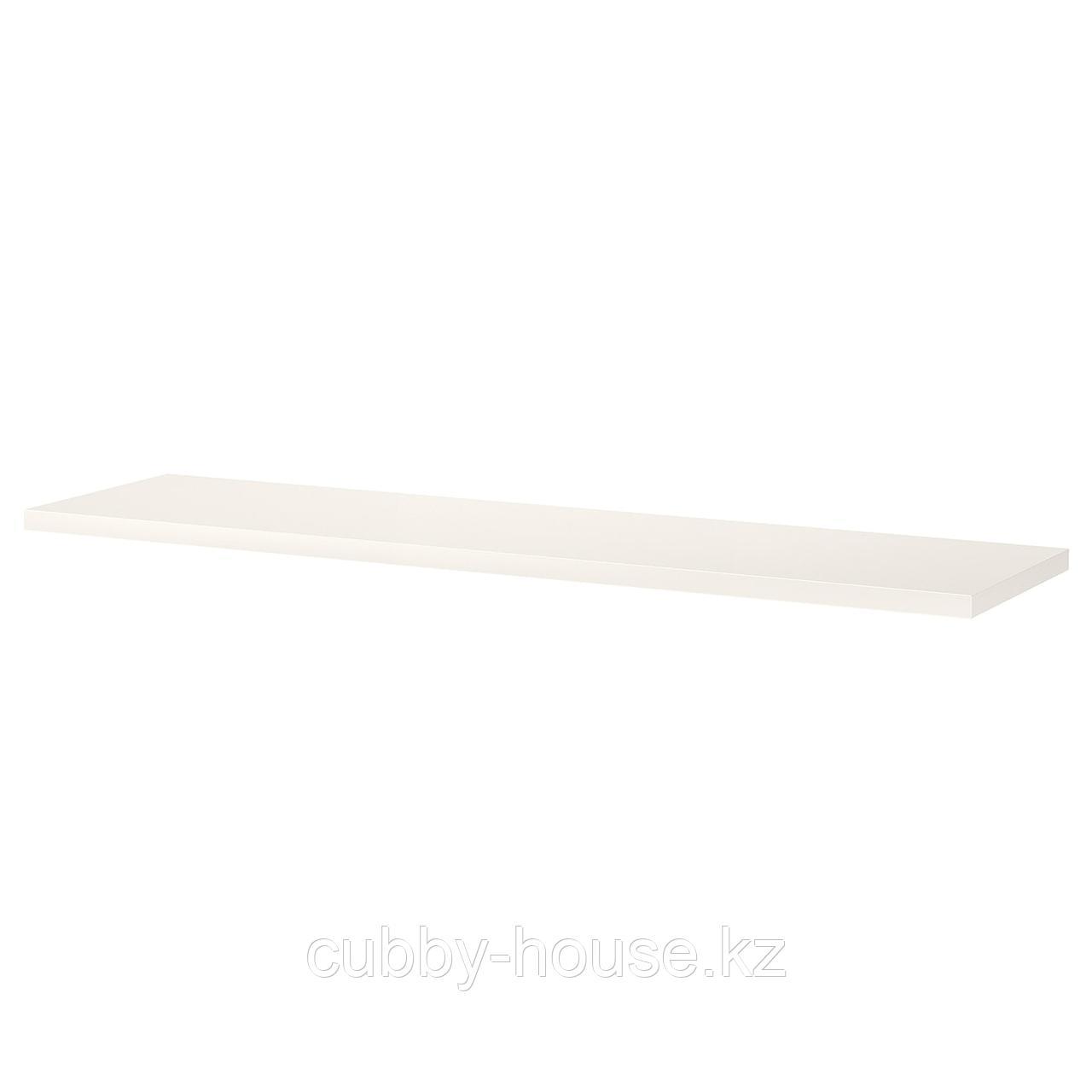 БЕРГСХУЛЬТ Полка, белый, 120x30 см