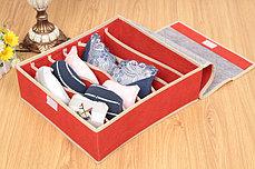 Органайзер для белья из 7 ячеек (голубой), фото 3