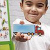 """Набор магнитов """"Мой маленький мир.Транспорт"""" VT3106-04, фото 3"""