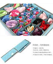 Органайзер для белья из 16 ячеек (голубой), фото 2