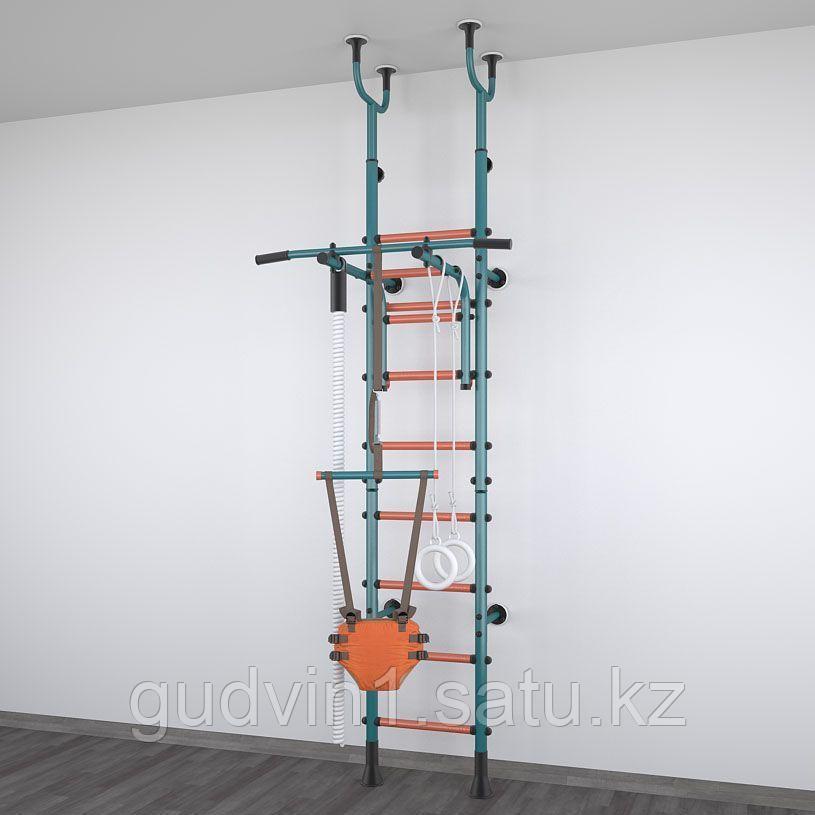 Детский спортивный комплекс Polini Sport Active, комбинированный, бирюзовый 01-00172
