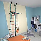 Детский спортивный комплекс Polini Sport Active, комбинированный, бирюзовый 01-00172, фото 3