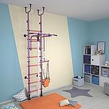 Детский спортивный комплекс Polini Sport Active, фиолетовый 01-31278, фото 3