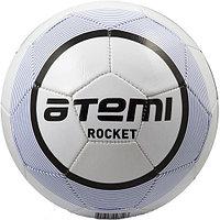 Мяч футбольный Atemi Rocket white/blue