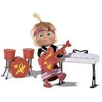 Кукла Simba Маша в рок-наряде с гитарой, синтезатором и барабанами 10 930 1682