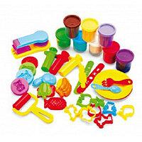 Набор пластилина с формочками Креативный пластилин Bradex DE 0124
