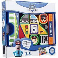 Конструктор Magneticus кубики Полиция BLO00306