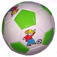 Мяч мини Zez Sport FT-PMI white/green