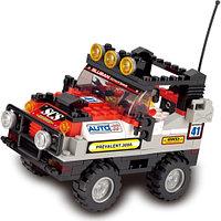 Конструктор Sluban Полноприводный автомобиль(красный) M38-B0132