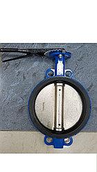 Затвор Ду150 Ру16 дисковый межфланцевый чугун упл.EPDM