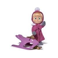 Кукла Simba Маша в зимней одежде со снегокатом 10 930 1681