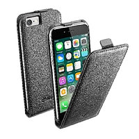 Чехол Cellularline Flap Ess Case для IPhone 7 FLAPESSIPH747K black