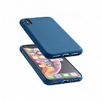 Чехол Cellularline для IPhone XS Max SENSATIONIPHX65B blue