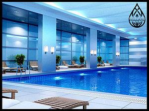 Дизайн переливных бассейнов