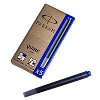 Картридж с чернилами для перьевой ручки Parker 5 шт 1950384 blue