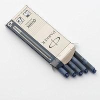 Картридж с чернилами для перьевой ручки Parker 5 шт 1950385 blue/black