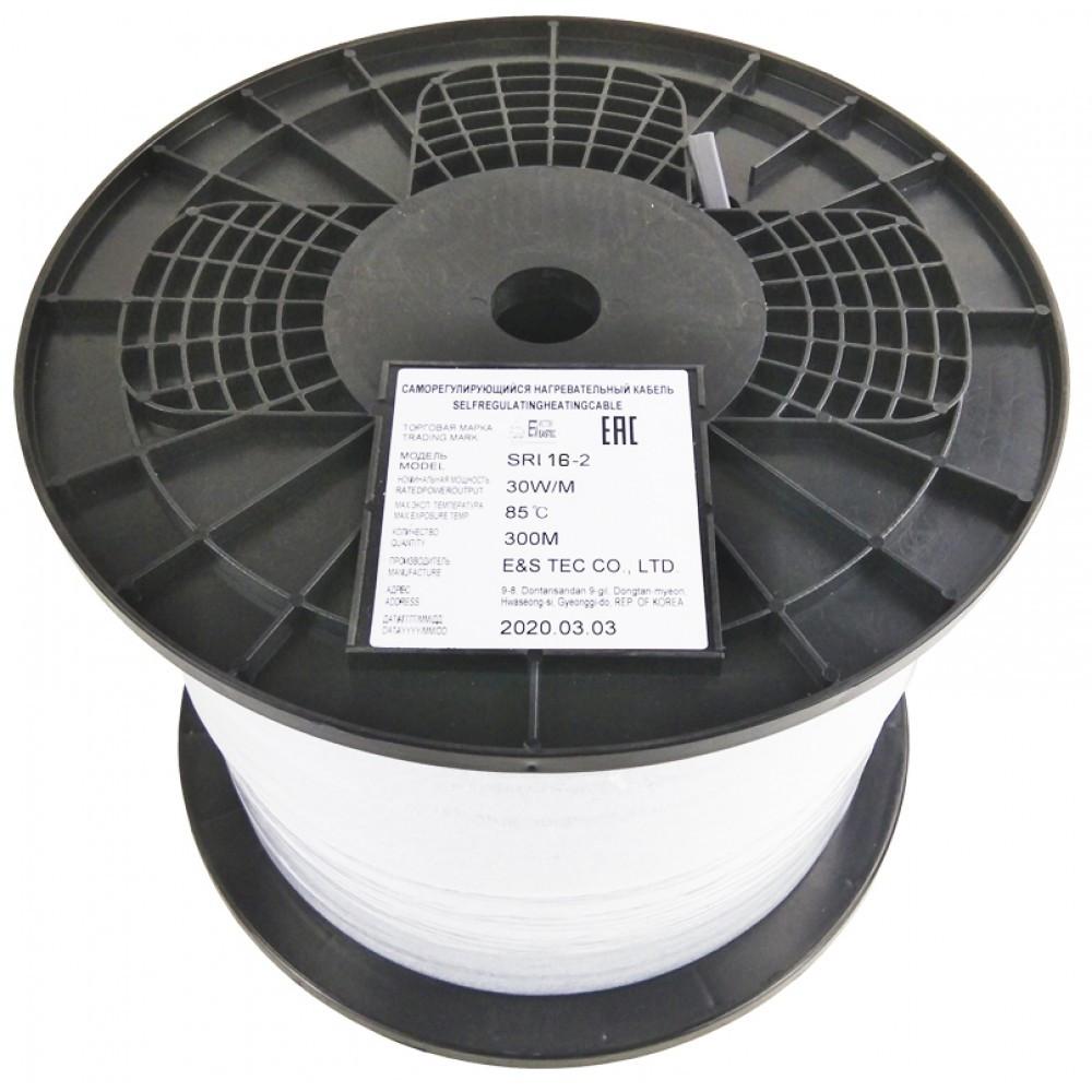 Саморегулирующийся нагревательный кабель EASTEC SRL 16-2 (Мощность 16 Вт/м, без оплетки) - фото 2