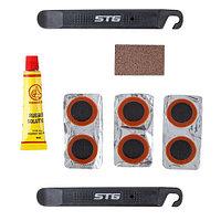 Велоаптечка STG YC129A, монтажки+заплатки+клей Х83401