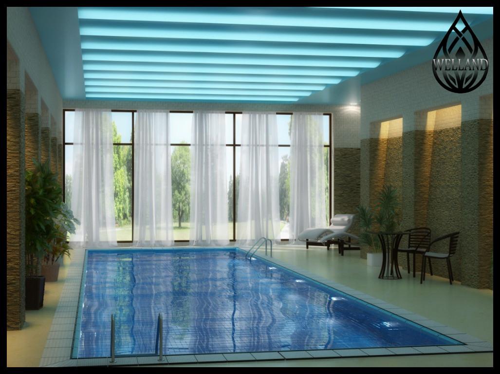 3D визуализация переливных бассейнов