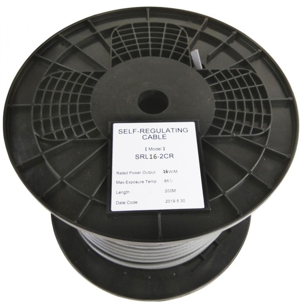 Саморегулирующийся нагревательный кабель EASTEC SRL 16-2 CR (Мощность 16 Вт/м, экранированный) - фото 2