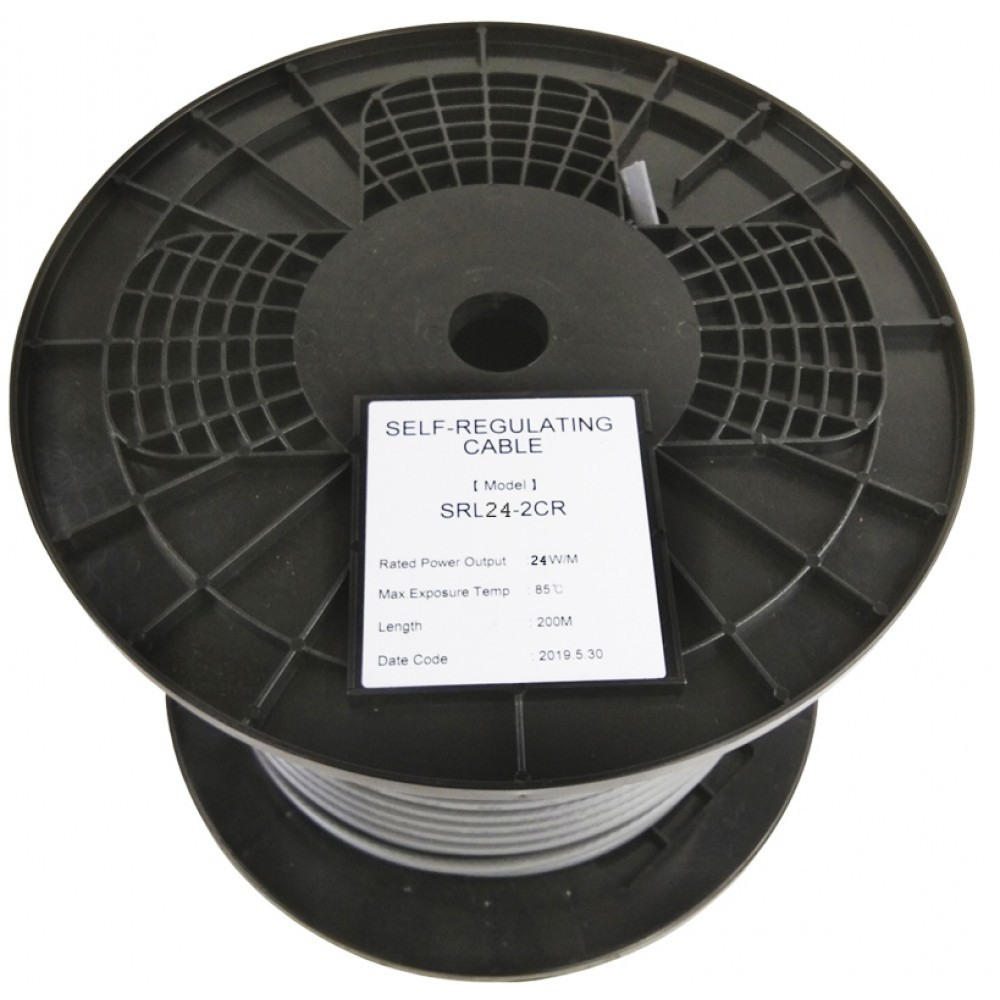 Саморегулирующийся нагревательный кабель EASTEC SRL 24-2 CR (Мощность 24 Вт/м, экранированный) - фото 2