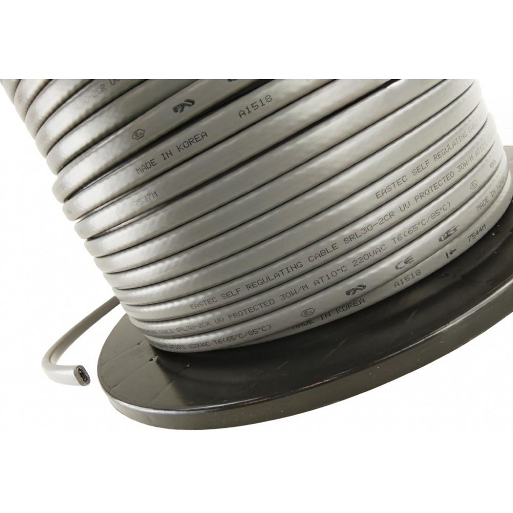 Саморегулирующийся нагревательный кабель EASTEC SRL 24-2 CR (Мощность 24 Вт/м, экранированный) - фото 4