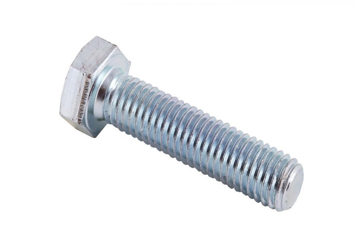 Болт М6*20 оцинкованный с полной резьбой DIN 933
