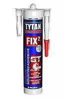 Клей монтажный Fix2 ELASTIC белый TYTAN