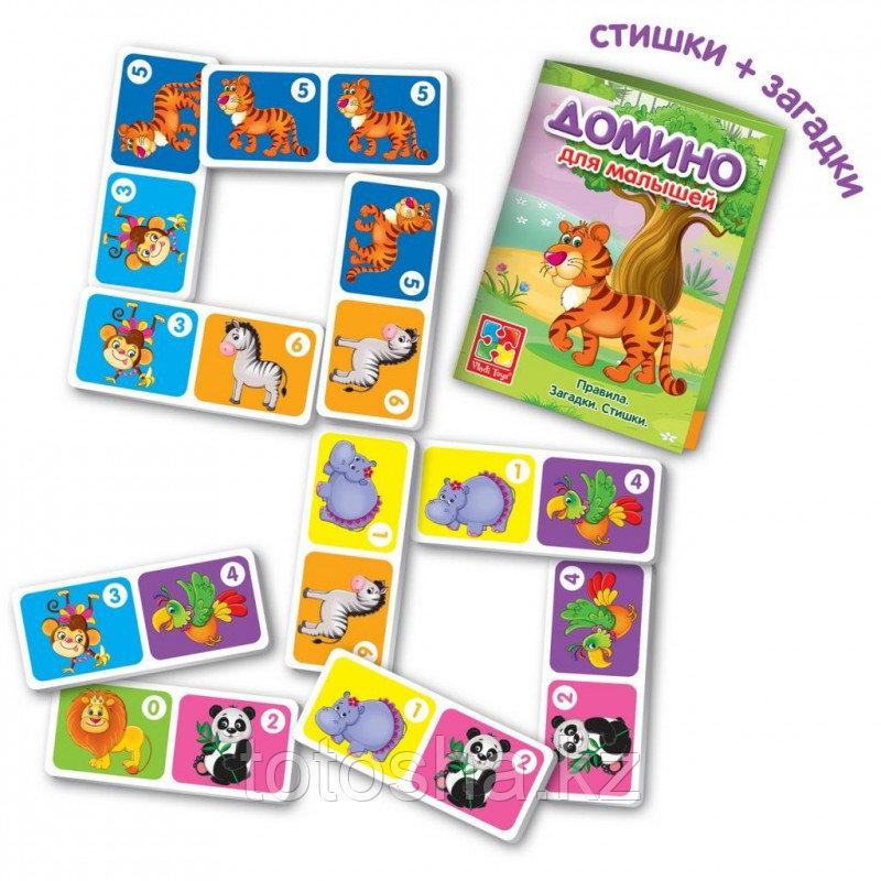 """Домино для малышей """"Зоопарк"""" - фото 2"""